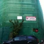 Επισκευή όψεων τριωρόφου οικοδομής